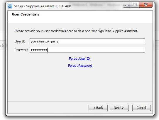Xerox Supplies Assistant screenshot